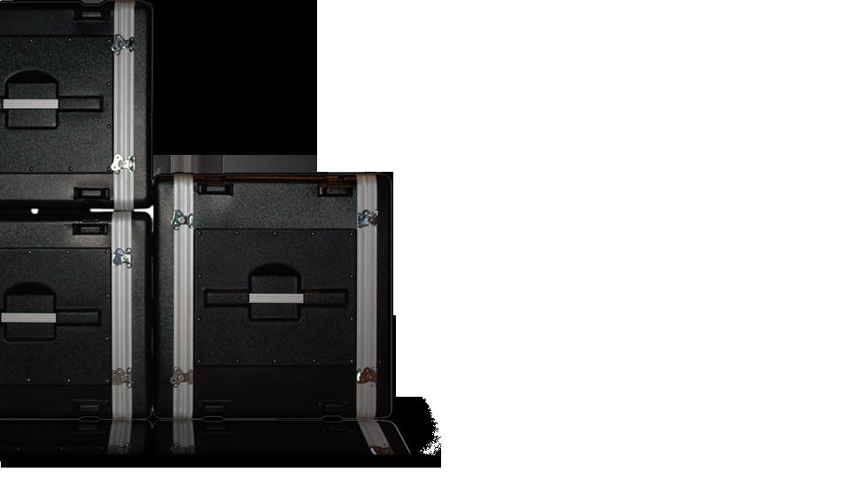 Photo des rack dans lequel ranger le materiel